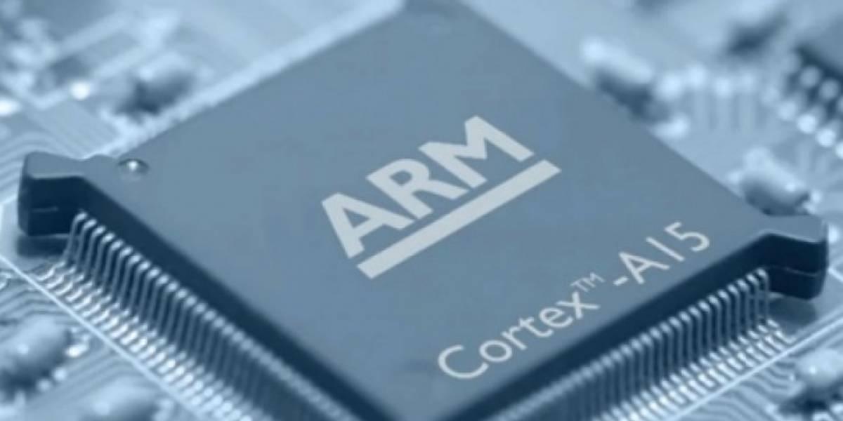 ARM predice que en 2015 habrá teléfonos de 64 bits que costarán USD $70