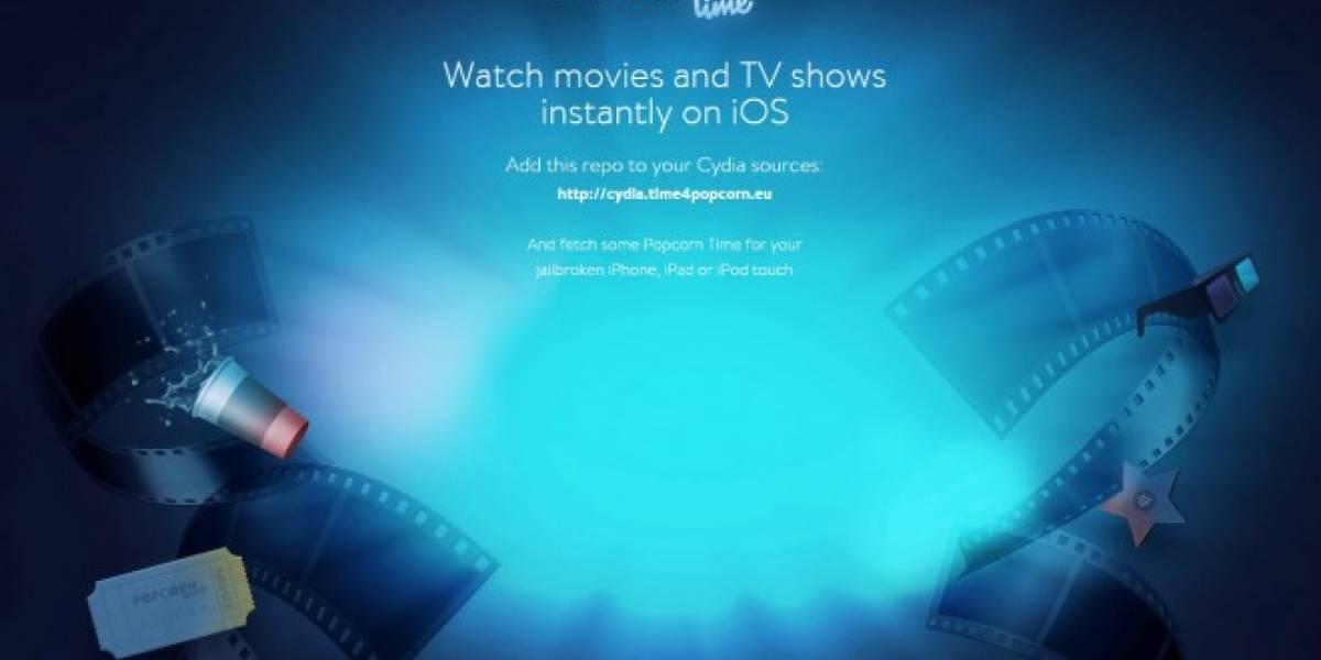 Popcorn Time llega a iOS, pero solo a los dispositivos con jailbreak