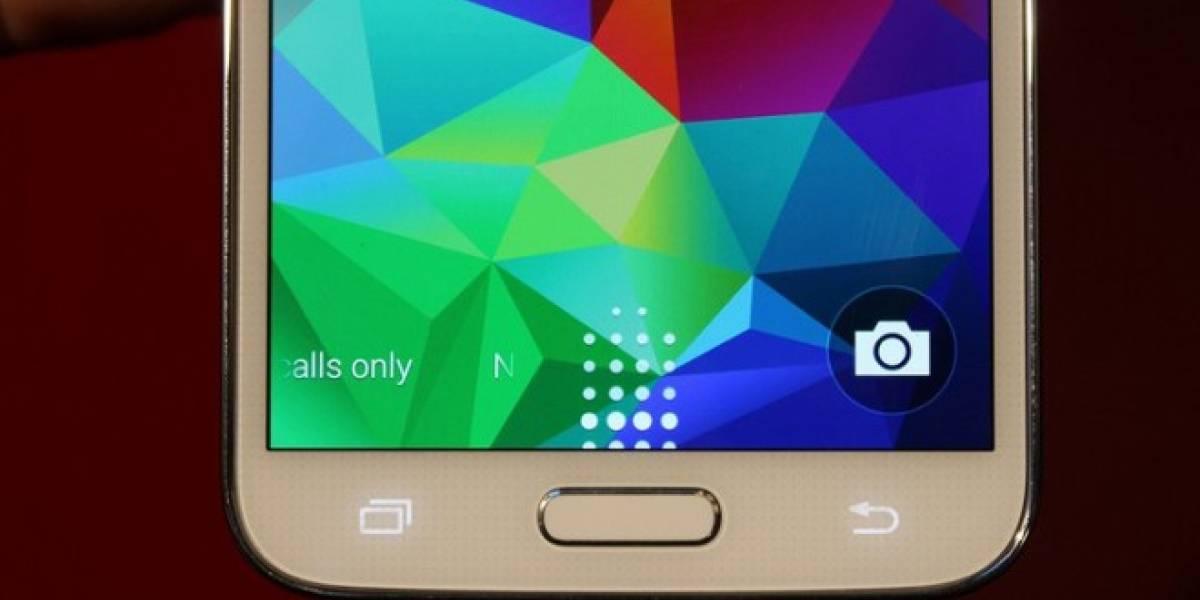 Hackean lector de huellas del Samsung Galaxy S5