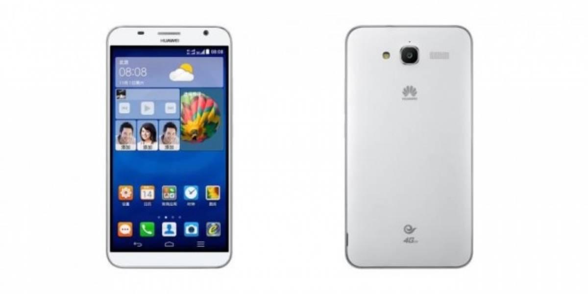 Huawei presenta el Ascend GX1 de 6 pulgadas