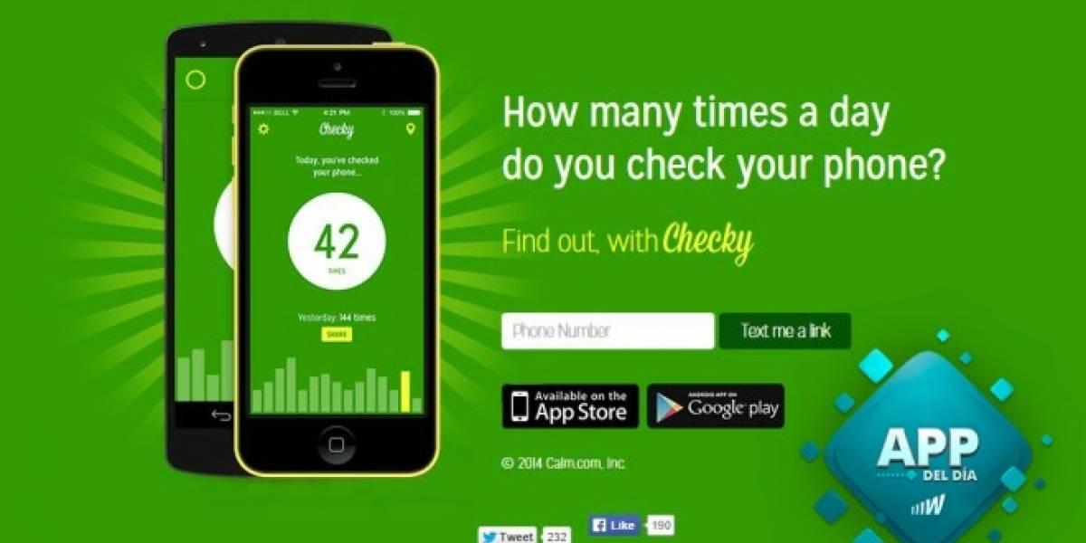 Checky te cuenta cuántas veces has revisado tu smartphone en el día [App del día]