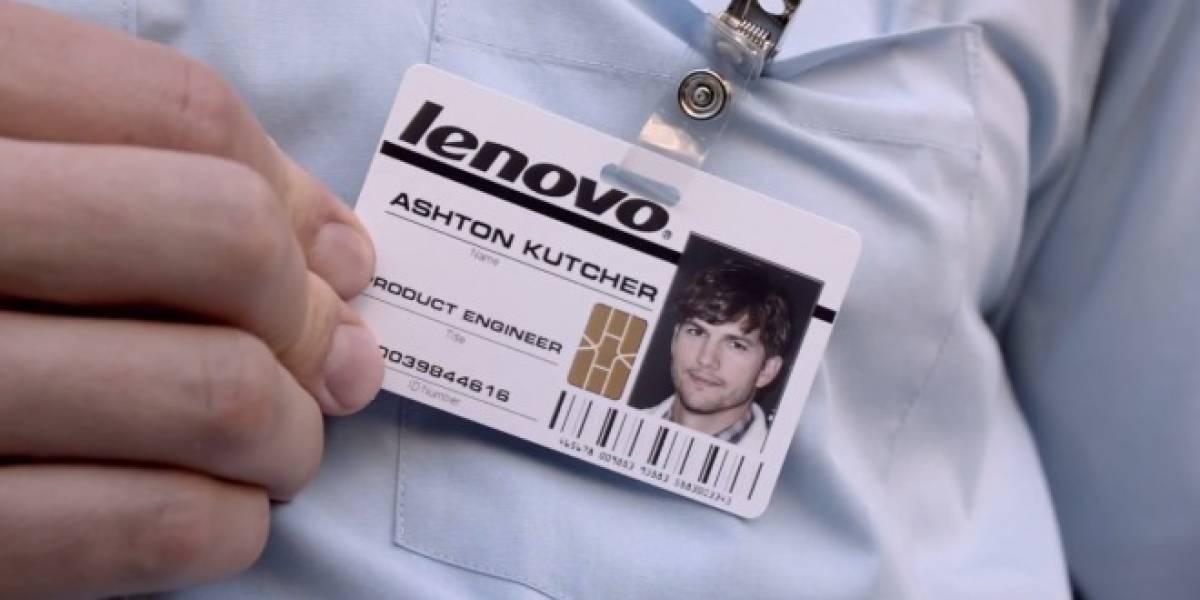 Lenovo lanzará smartphones diseñados por Ashton Kutcher