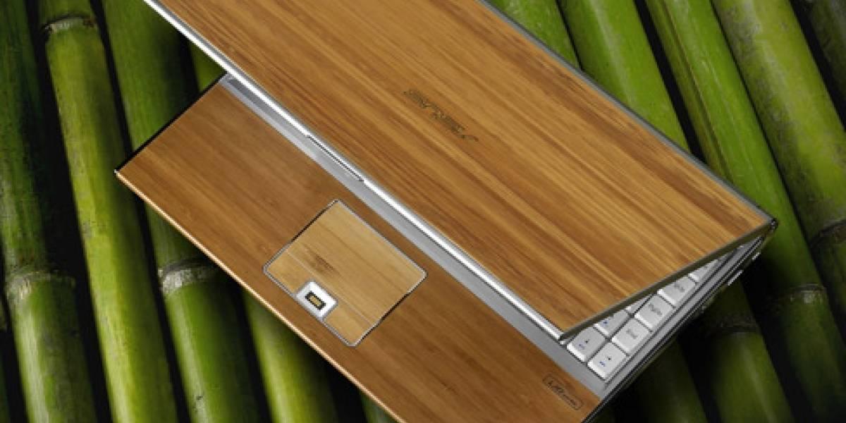 ASUS le pone precio a su notebook de bambú