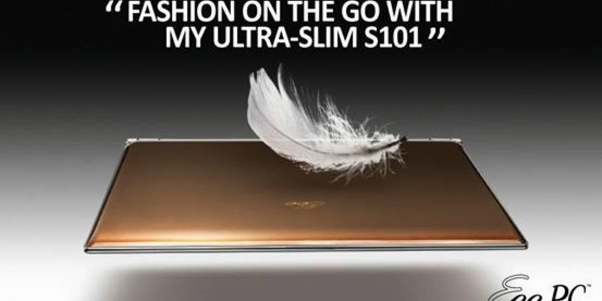 ASUS Eee PC S101, por fin los netbooks se vuelven sexy