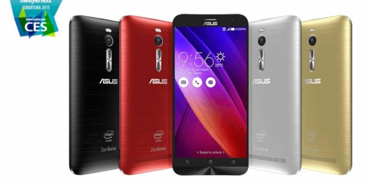 ASUS ZenPhone 2, el primer smartphone con 4GB de RAM #CES2015