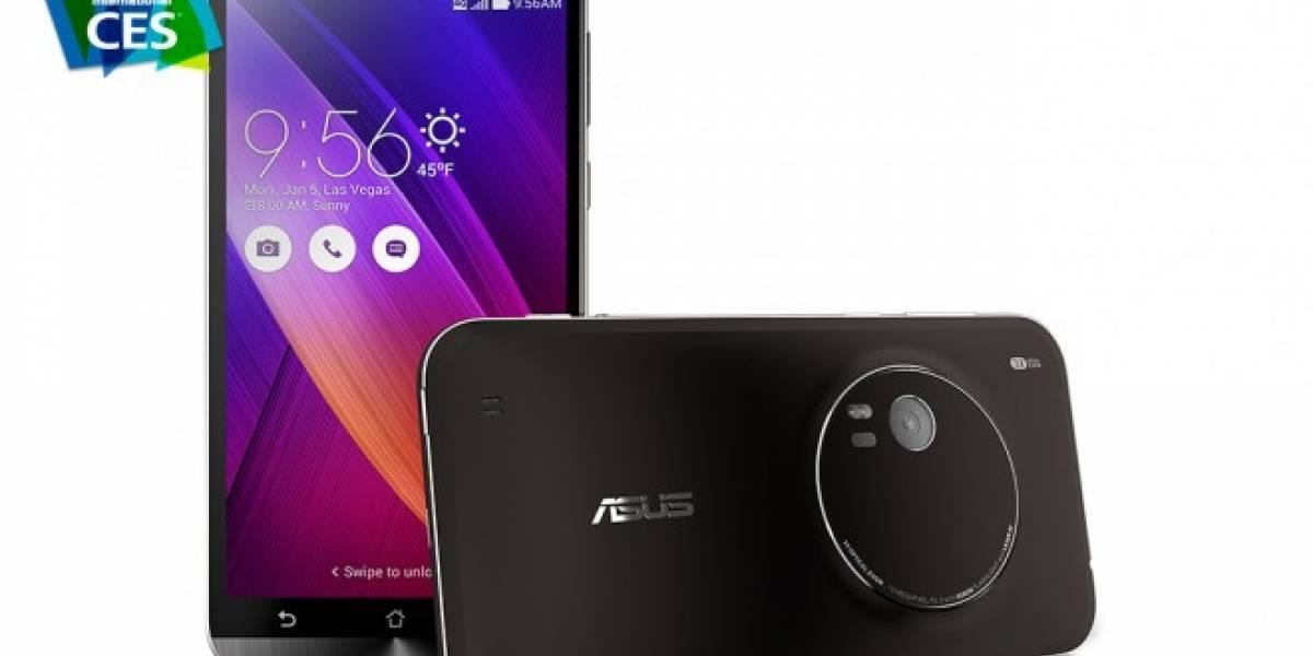 Asus Zenfone Zoom quiere ser tu cámara y smartphone #CES2015