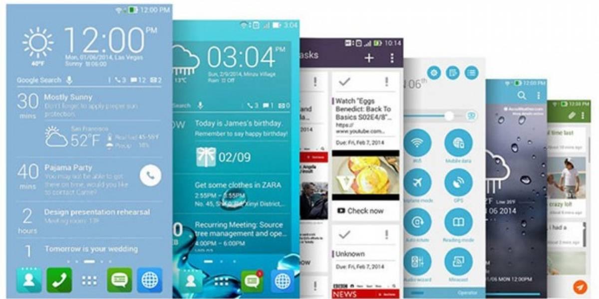 ZenUI, la capa de personalización de ASUS para Android #MWC14