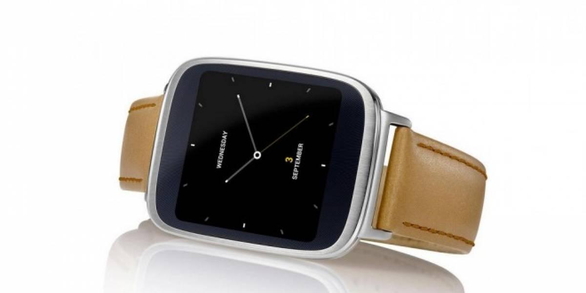 ASUS lanzará un reloj inteligente cuya batería durará una semana