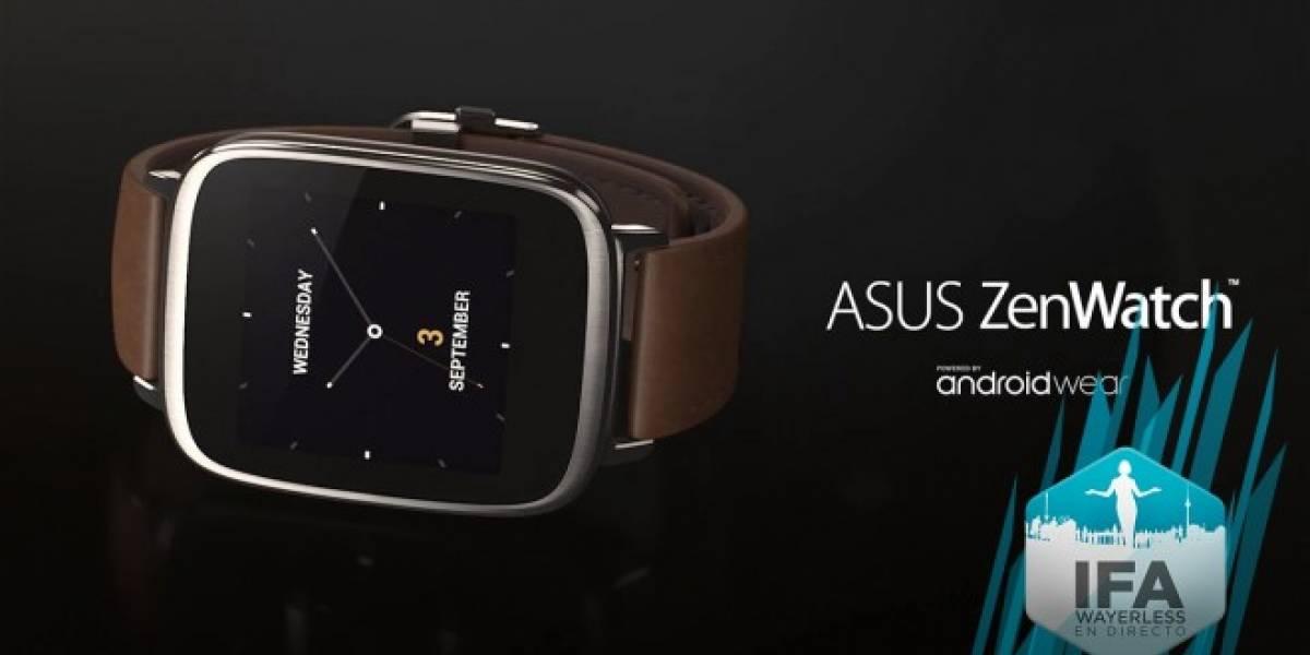 Asus lanza su primer smartwatch con ZenWatch #IFA2014