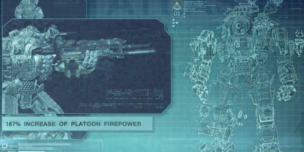 Todo el poderío del robot Atlas en un nuevo video de Titanfall