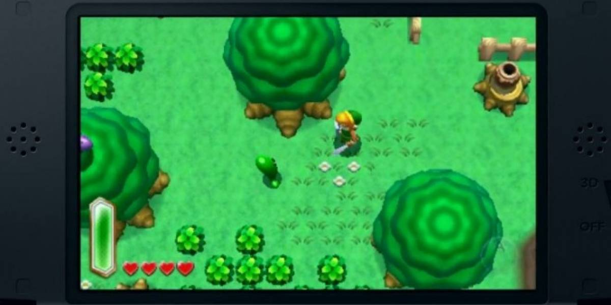 El nuevo Zelda de 3DS regresa al mundo de A Link to the Past