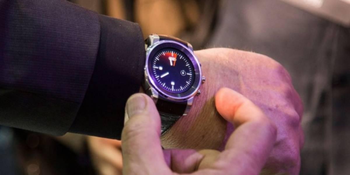 Audi y LG presenta un smartwatch que permite controlar el auto por voz