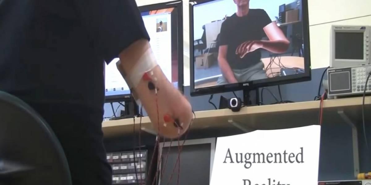 Desarrollan tratamiento con videojuegos y AR para combatir dolor fantasma