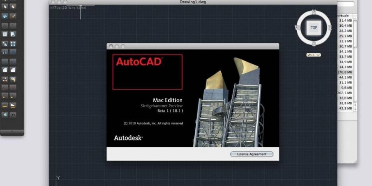 AutoCAD vuelve a Mac