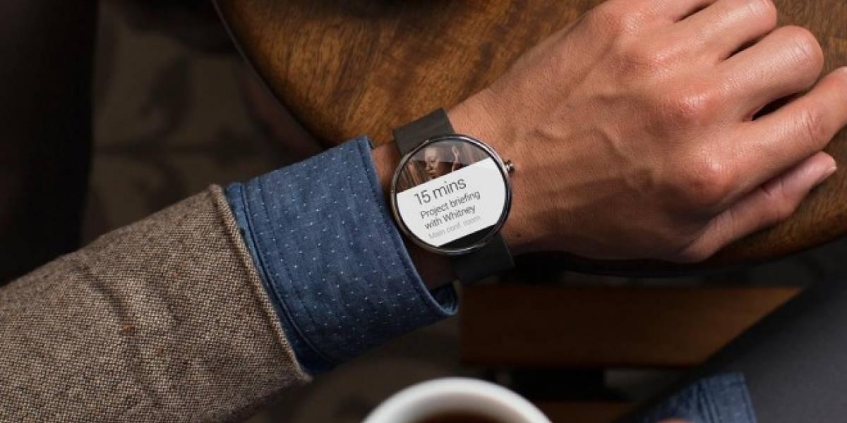 Relojes con Android Wear podrán disparar una fotografía en móviles con Android