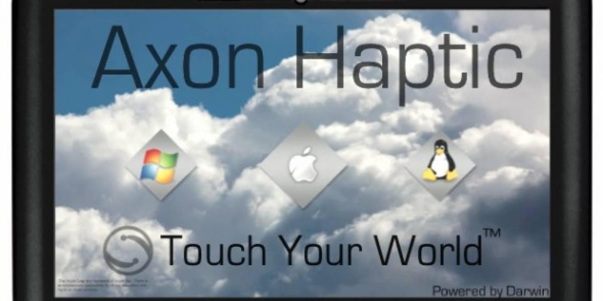 Axon Logic presenta tablet compatible con Windows, Mac OS X y Linux