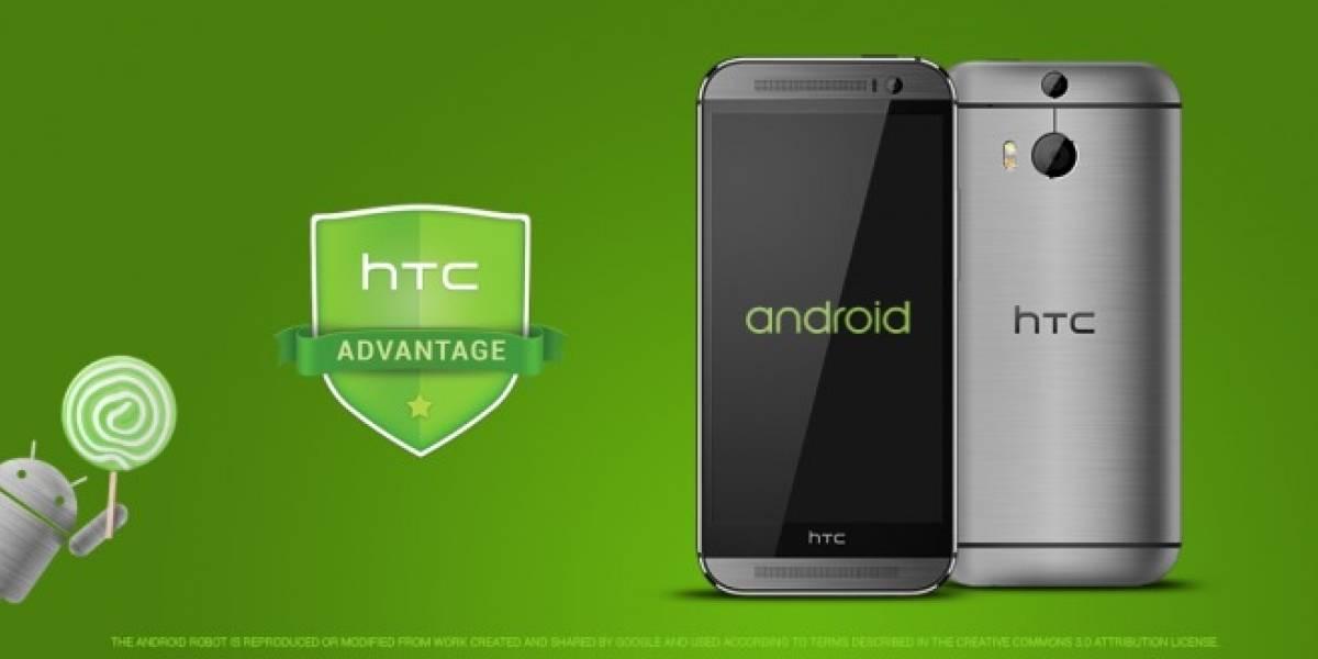 HTC One M8 y M7 tendrán Android 5.0 Lollipop en 90 días