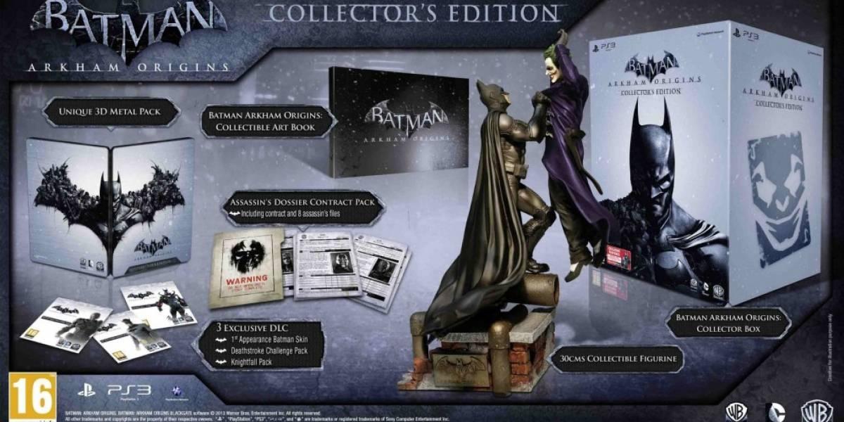 Se revela la edición de colección de Batman: Arkham Origins para Europa