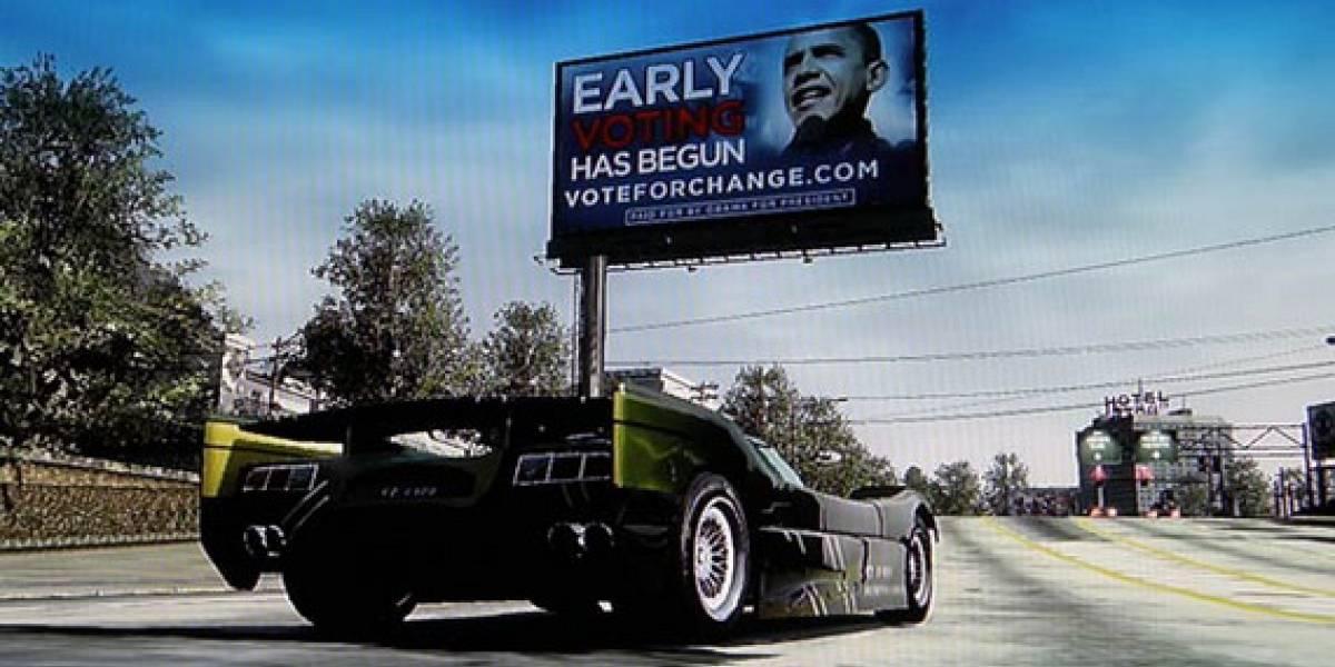 Barack Obama quiere los votos de los jugadores de Xbox 360