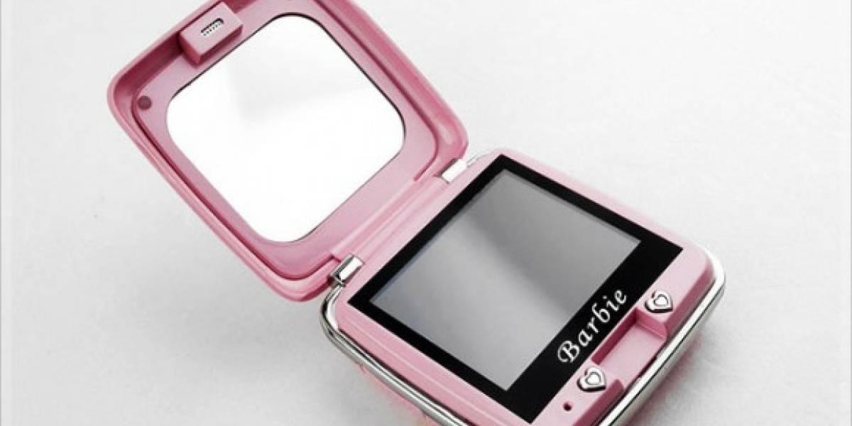 Para las mujeres: Celular Barbie P520