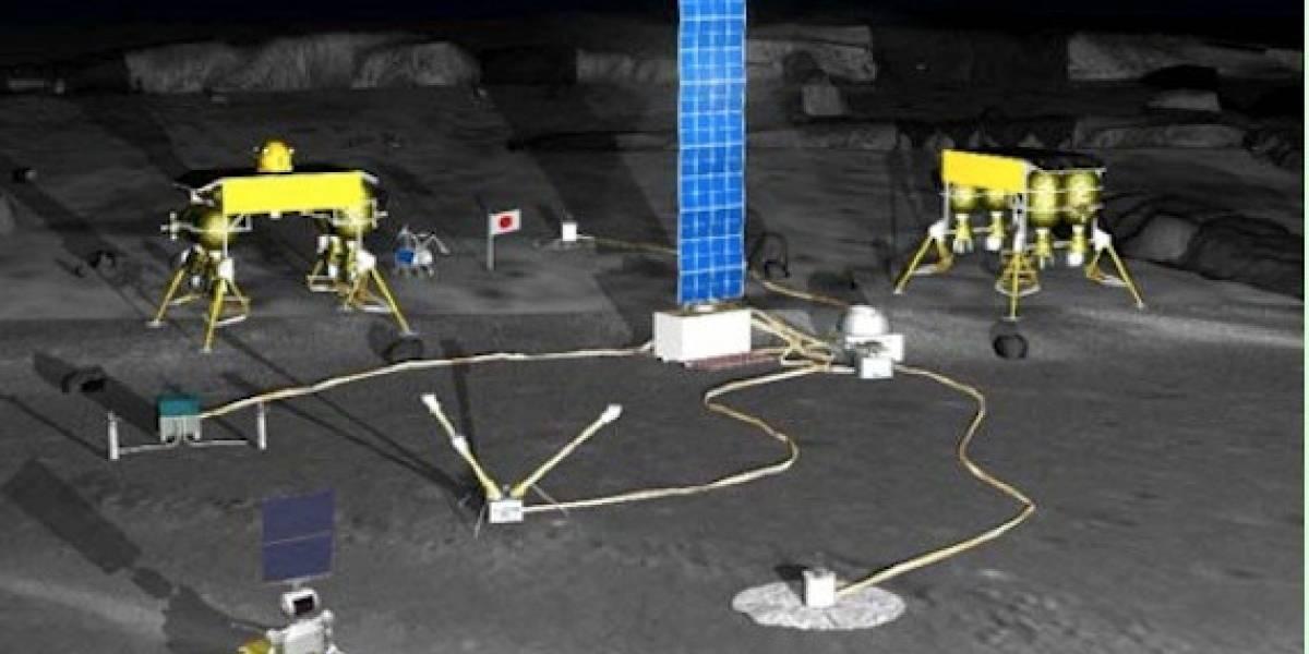 Japón quiere instalar una base lunar robótica para el 2020