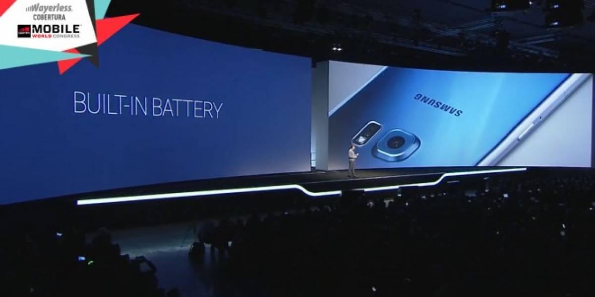 Batería del Galaxy S6 se carga en la mitad del tiempo que la del iPhone 6 #MWC15