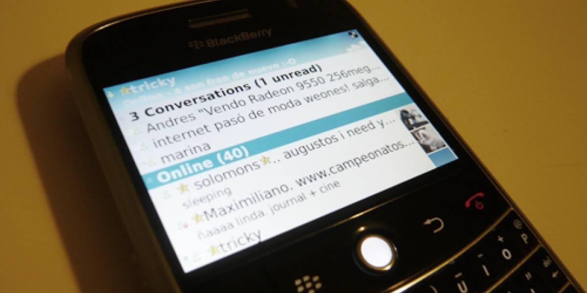 Microsoft lanza Live Messenger para BlackBerry
