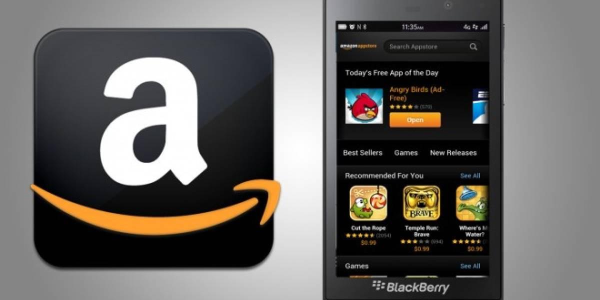 BlackBerry habilitará la tienda de aplicaciones de Amazon en BlackBerry 10