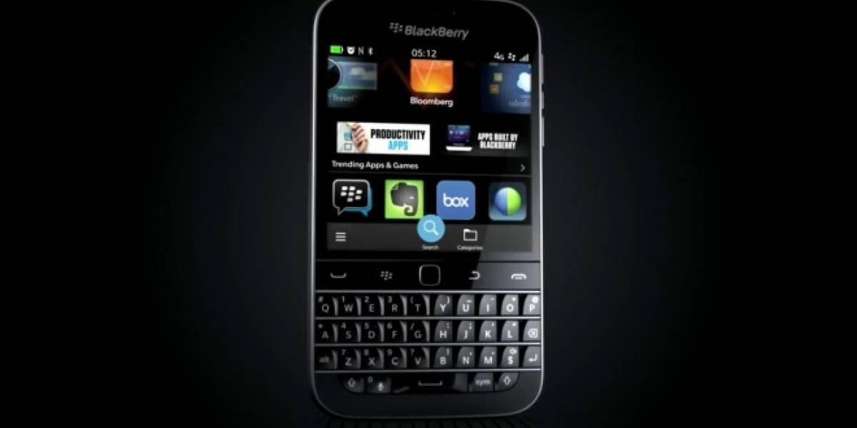 BlackBerry Classic ya es oficial