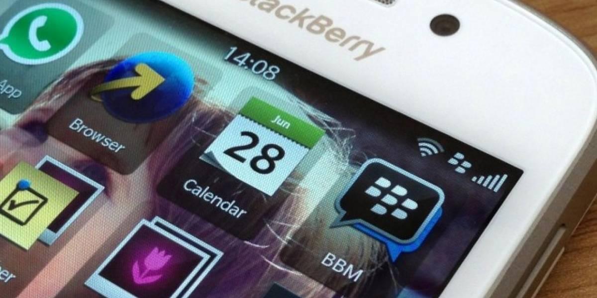 BlackBerry Messenger estrena mensajes que se eliminan solos al estilo Snapchat
