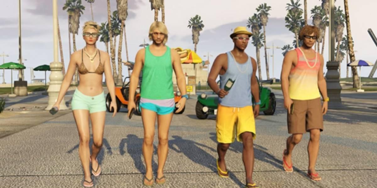 El paquete Beach Bum para GTA V llegará la próxima semana