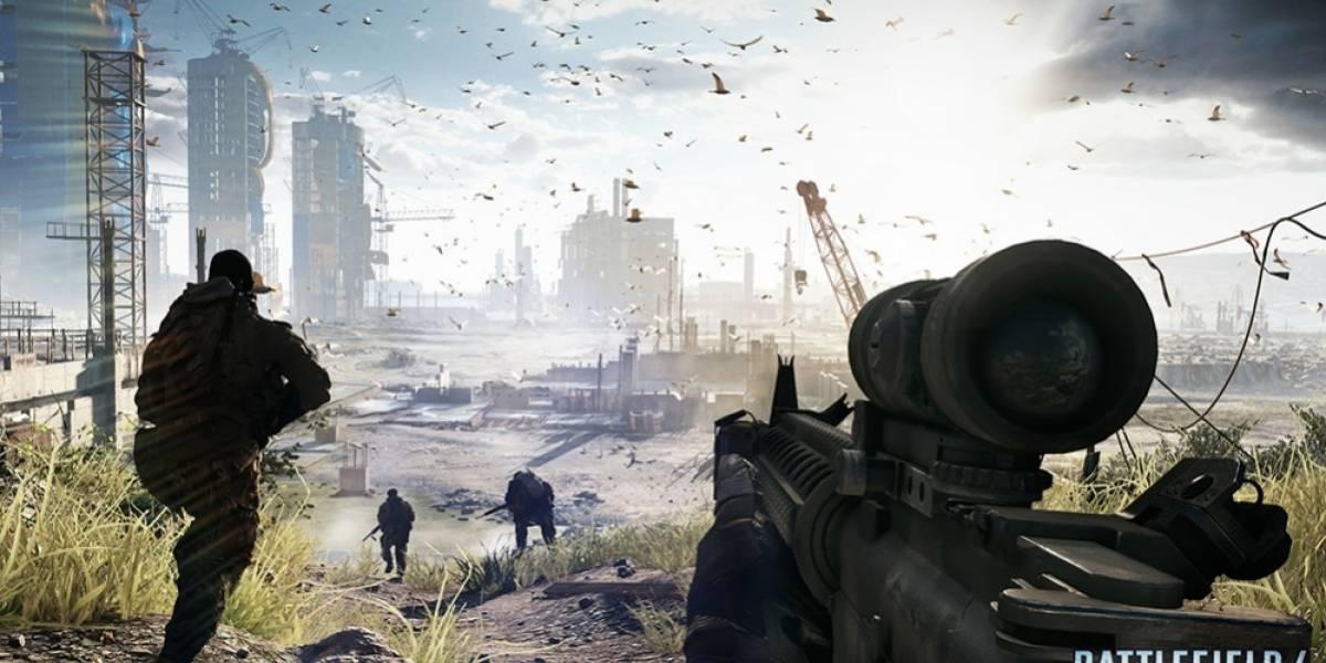 Beta de Battlefield 4 llegará el primer día de octubre