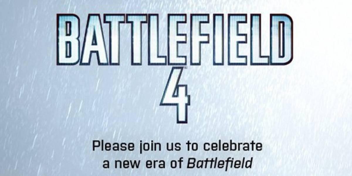 Battlefield 4 será presentado el 26 de marzo durante la GDC