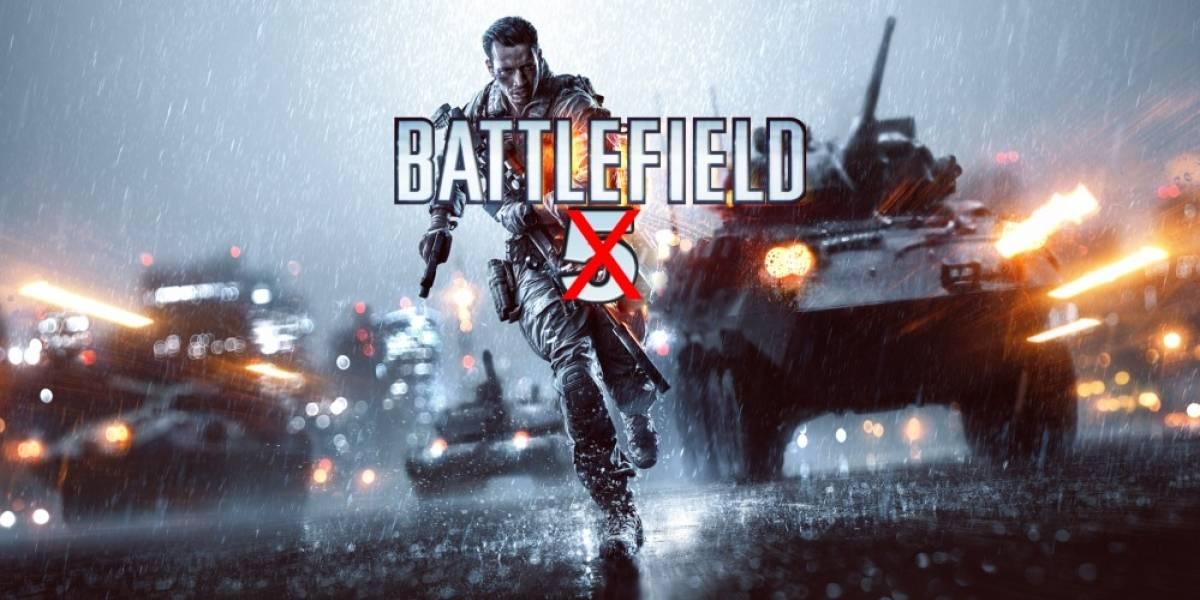 DICE no está desarrollando un Battlefield para 2014