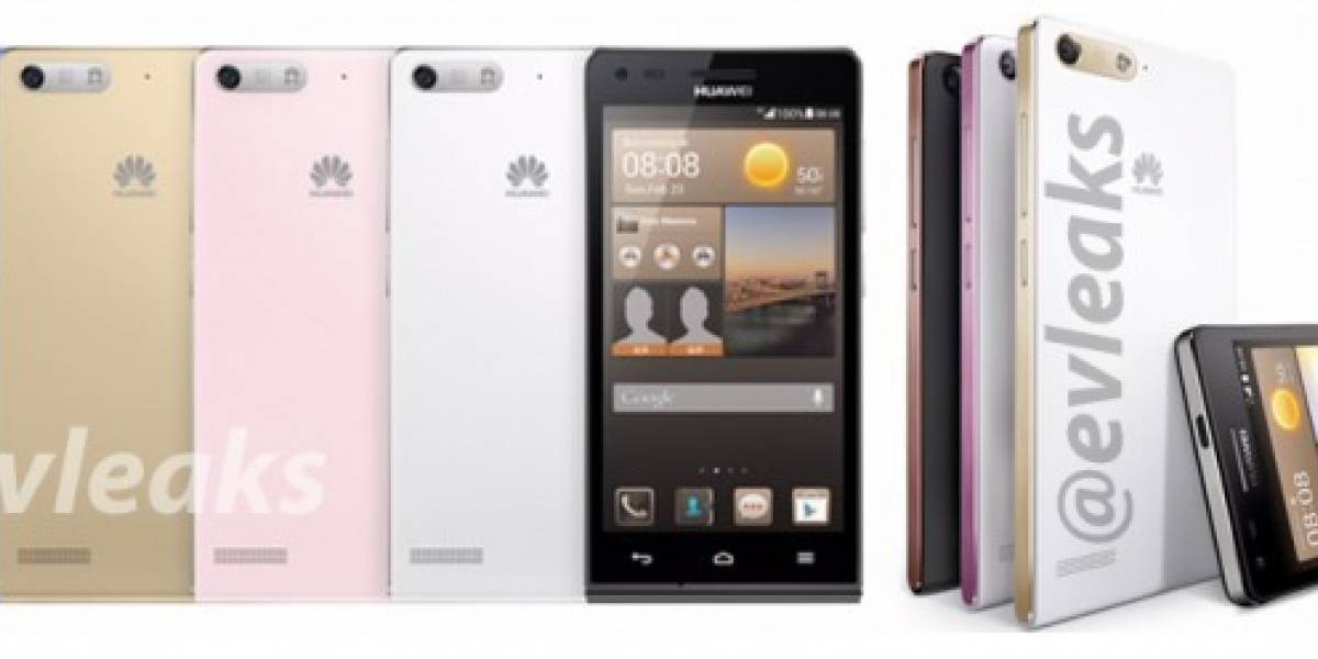 Aparece imagen el Huawei Ascend G6