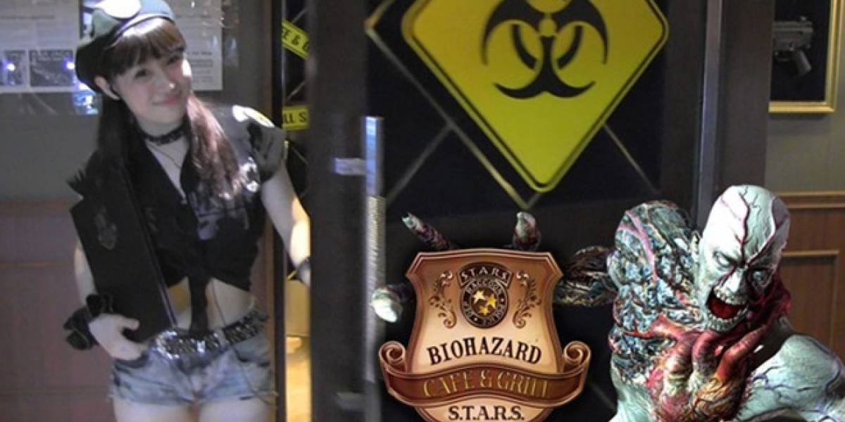 Así luce el restaurante con temática de Resident Evil en Japón