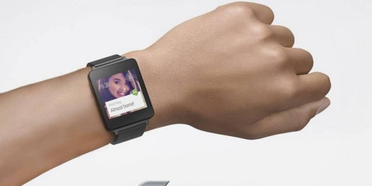 LG muestra su próximo G Watch con Android Wear