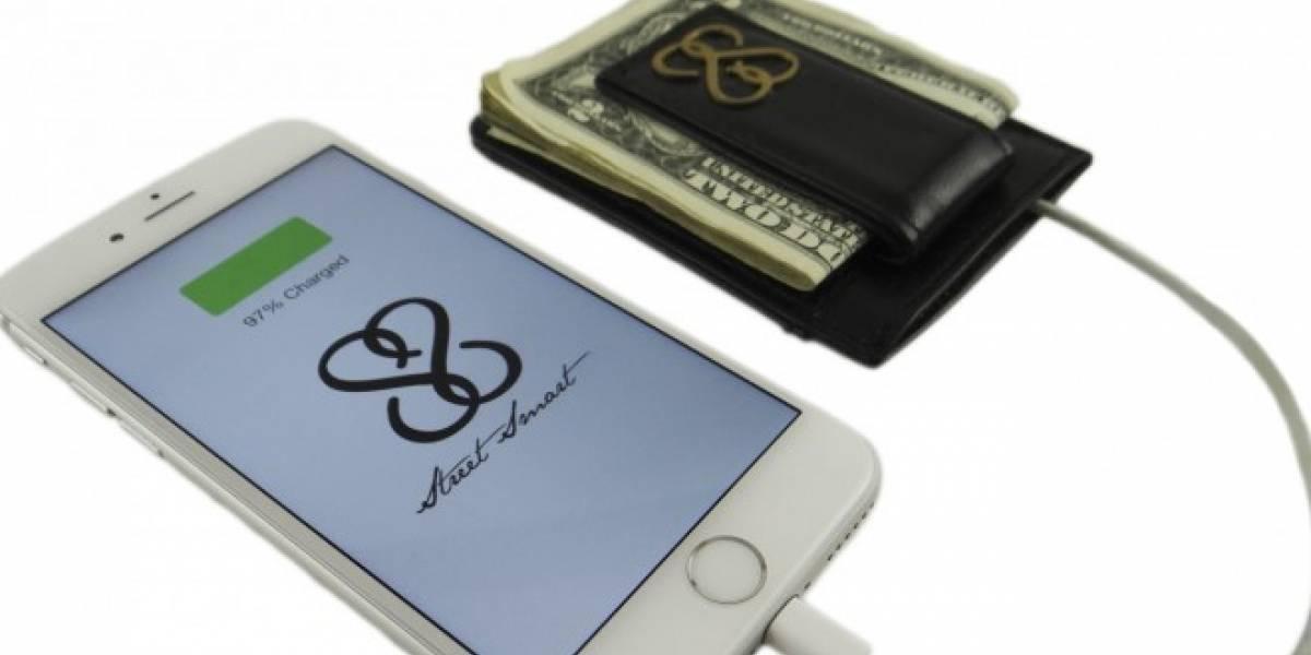 La billetera inteligente que permite encontrar el móvil en caso de pérdida