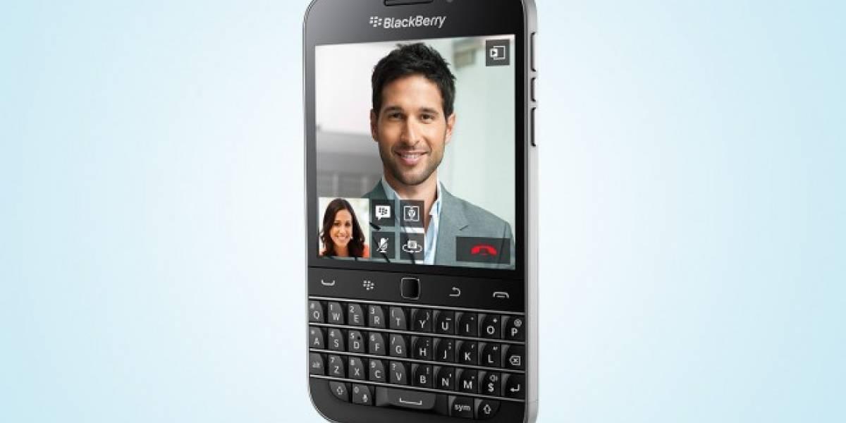 El lanzamiento de BlackBerry Classic debe ser el más extraño de la industria