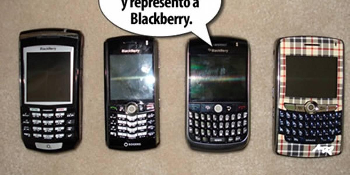 Blackberry Javelin paparazzeado: Una Bold para el resto de nosotros