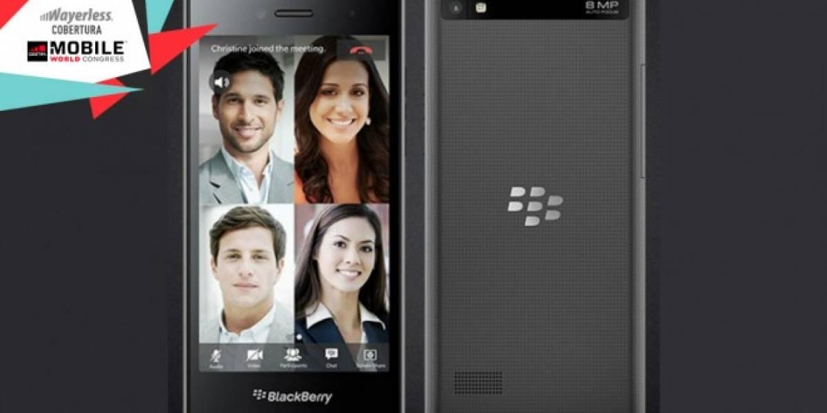 BlackBerry Leap, un nuevo móvil 4G con pantalla táctil #MWC2015