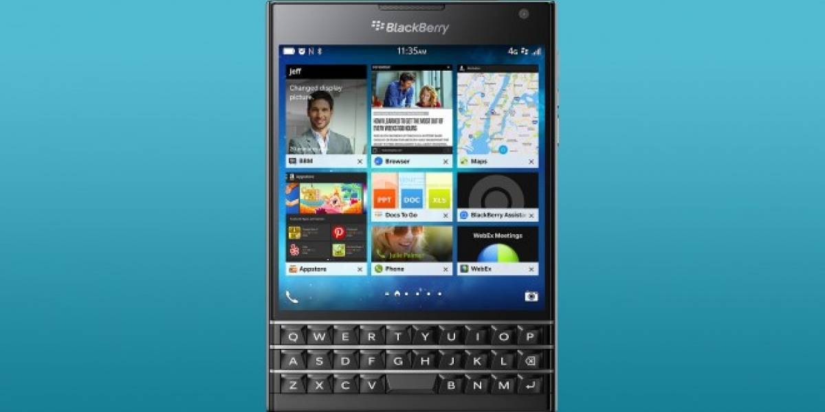 BlackBerry Passport sueña con ser relevante