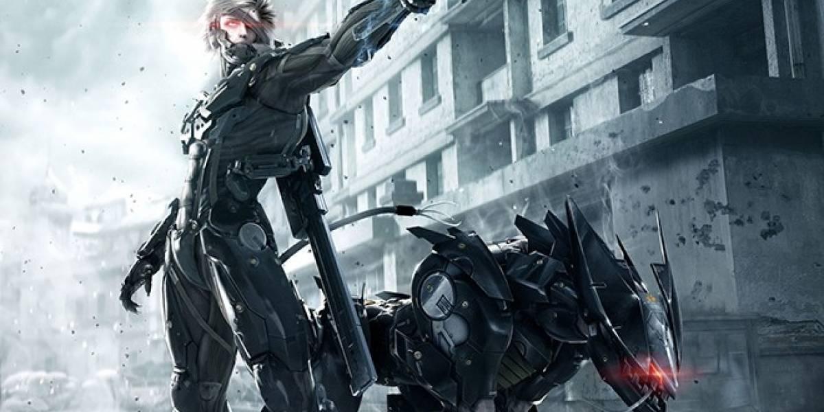 Blade Wolf, el próximo DLC para Metal Gear Rising, llegará a mediados de mayo