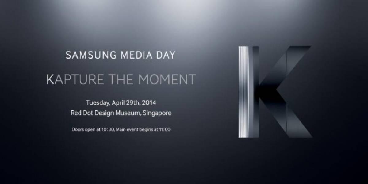 El 29 de abril Samsung presentará su Galaxy K Zoom
