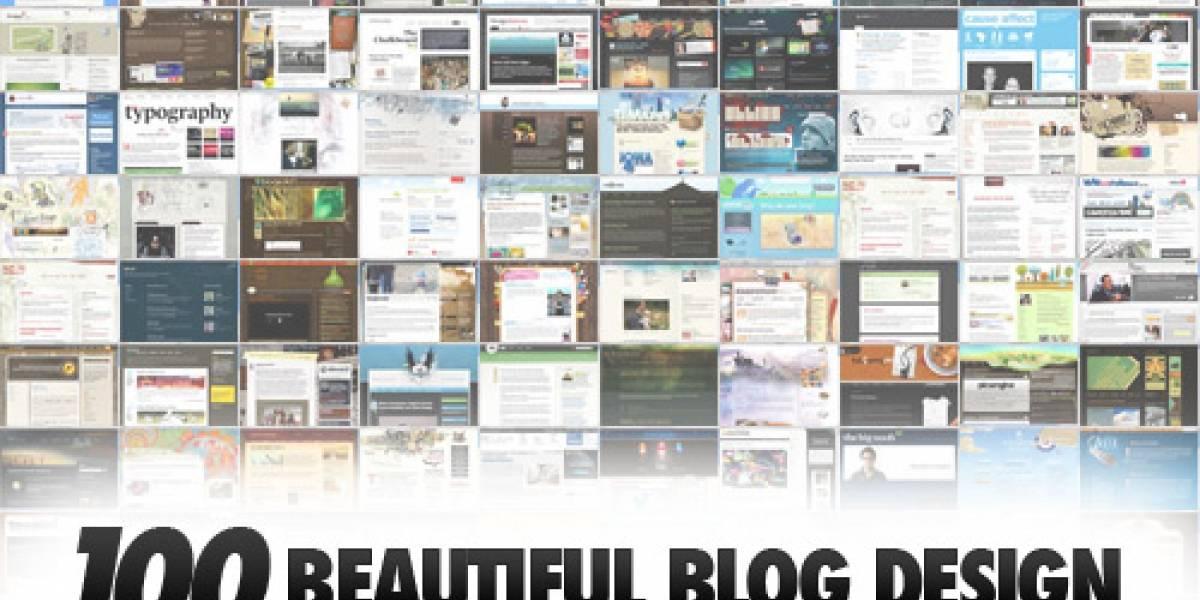 Los 100 blogs con mejor diseño