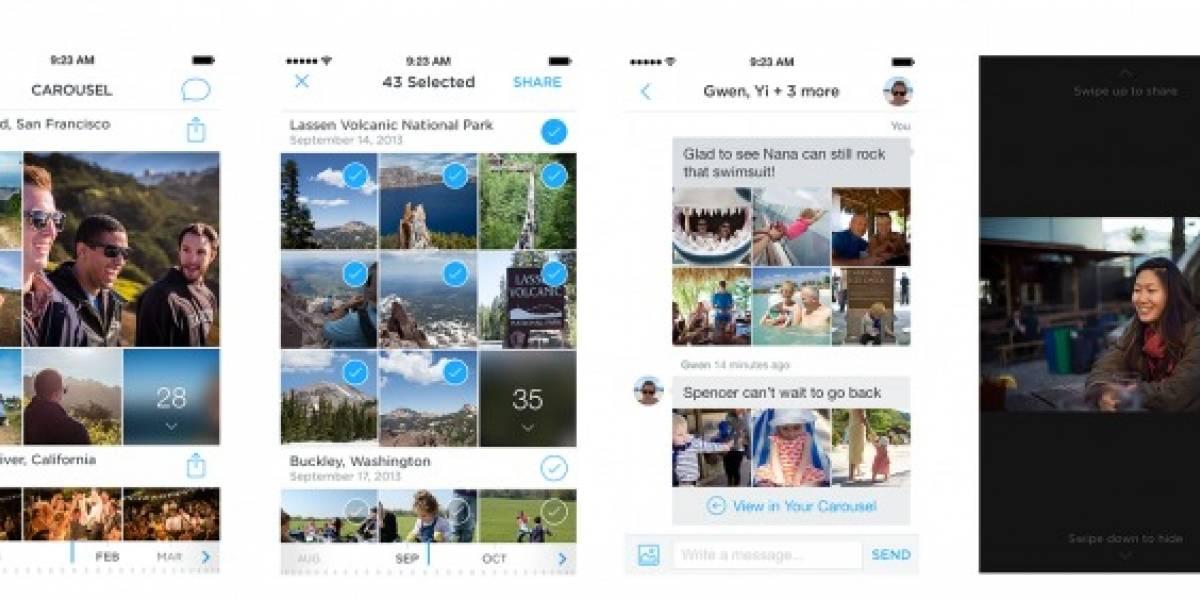 Dropbox lanza aplicación para ver videos e imágenes llamada Carousel