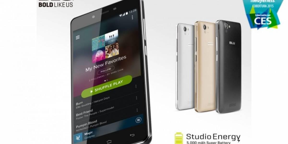 BLU anuncia a Studio Energy con batería de 5000mAh #CES2015