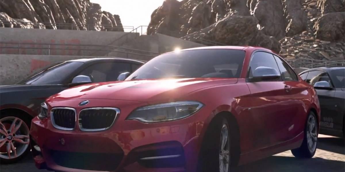 El BMW Serie 2 Coupé se deja ver en el nuevo tráiler de DriveClub