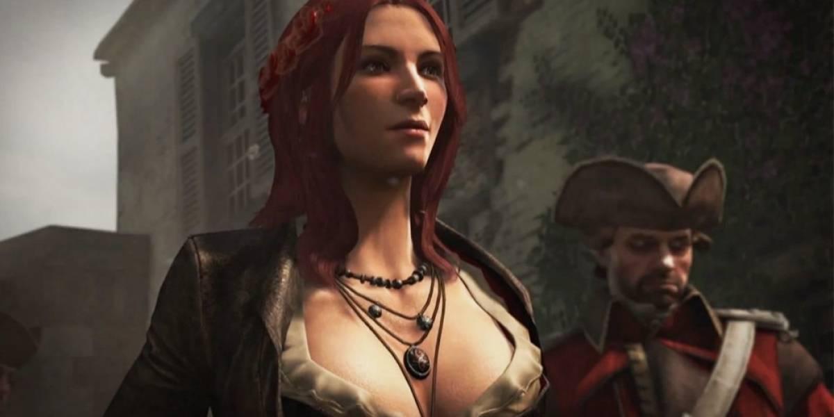 La pirata Anne Bonny en el tráiler de lanzamiento de Assassin's Creed IV