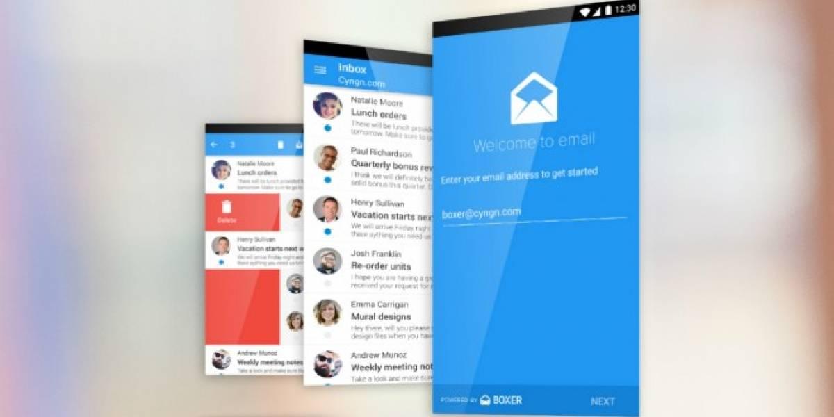 Cyanogen OS va a reemplazar a Gmail con nuevo cliente de e-mail